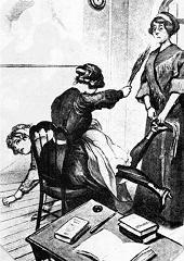 Severus harry punish spank grounded